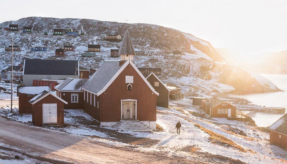 ท่องเที่ยว ประเทศกรีนแลนด์ แสงเหนือ