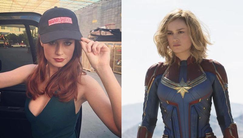 Brie Larson Captain Marvel marvel กัปตันมาร์เวล จักรวาลมาร์เวล มาร์เวล