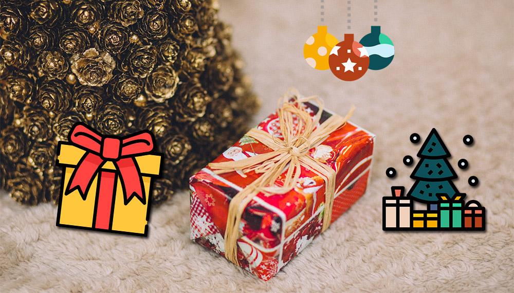 ของขวัญ ฉลาก ปีใหม่ วันคริสต์มาส