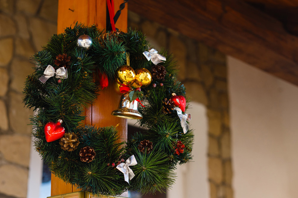 The Christmas Wreath - พวงมาลัยวันคริสต์มาส