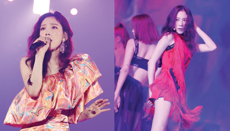 Girls' Generation s_TAEYEON_CONCERTinBKK TAEYEON คอนเสิร์ตเกาหลี