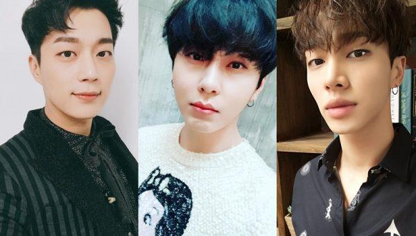 สมาชิกวง Highlight 3 คน ได้แก่ ดูจุน จุนฮยอง กีกวัง