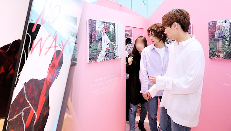 BOICE CNBLUE FNC Entertainment SF9 จอง ยงฮวา นิทรรศการภาพ