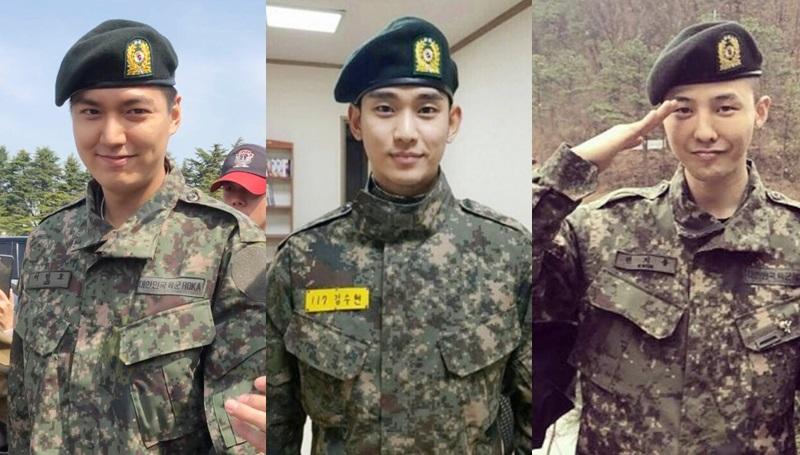ทหาร เข้ากรม โอปป้า ไอดอลเกาหลี