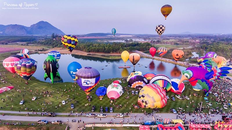 BalloonFiesta2019 เทศกาลบอลลูนนานาชาติ ที่ สิงห์ปาร์คเชียงราย