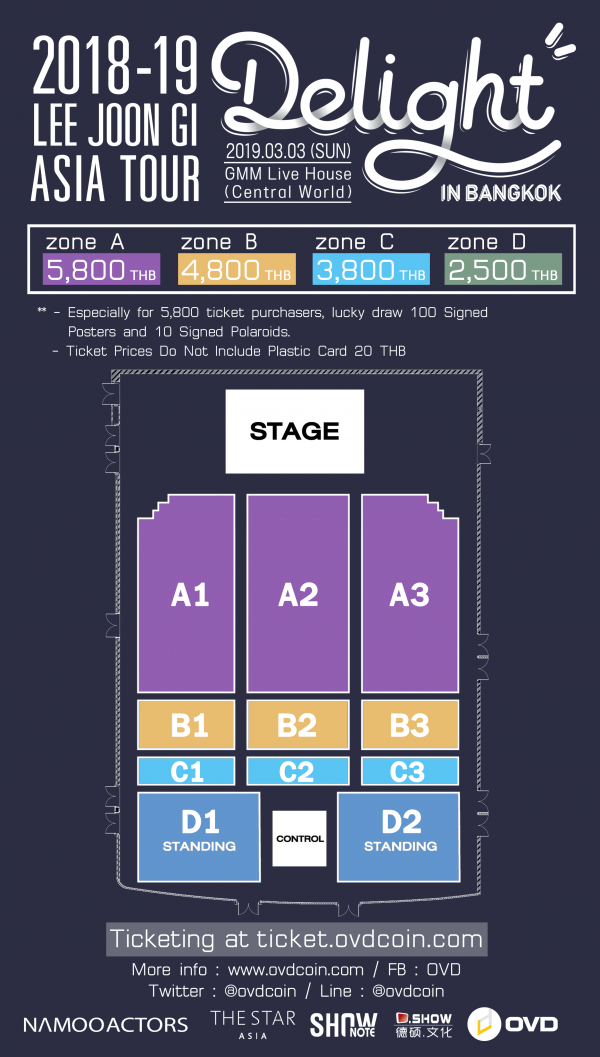 2018-19 LEE JOONGI ASIA TOUR 'DELIGHT' in Bangkok