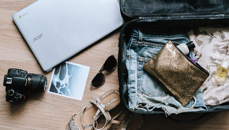 กระเป๋าเดินทาง วิธีจัดกระเป๋า