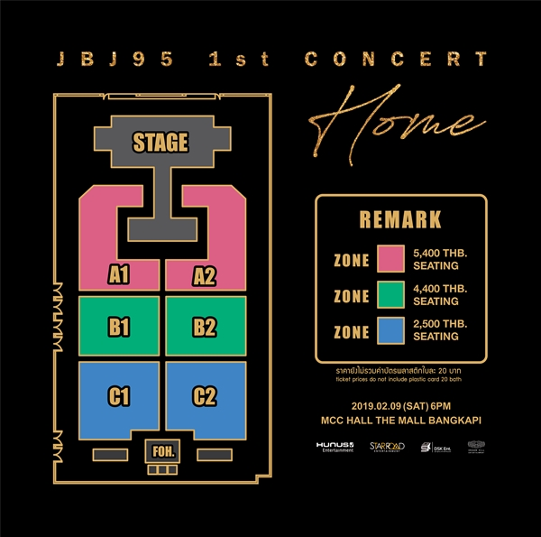 JBJ95 1ST CONCERT 'HOME' IN BANGKOK