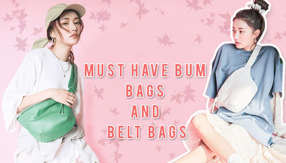 FashionUpdate กระเป๋า Belt กระเป๋า Bum กระเป๋าผู้หญิง แฟชั่นกระเป๋า