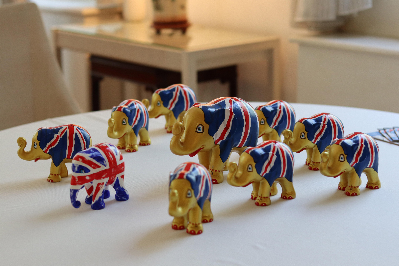 งาช้าง ช้าง สถานเอกอัครราชทูตอังกฤษ