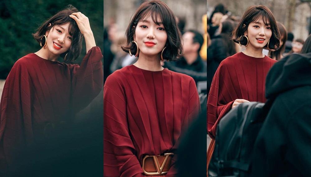 ดาราเกาหลี ทรงผม ทรงผมสั้น พัคชินฮเย แฟชั่นดารา