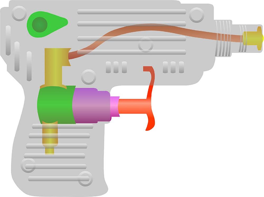 ส่วนประกอบปืนฉีดน้ำ