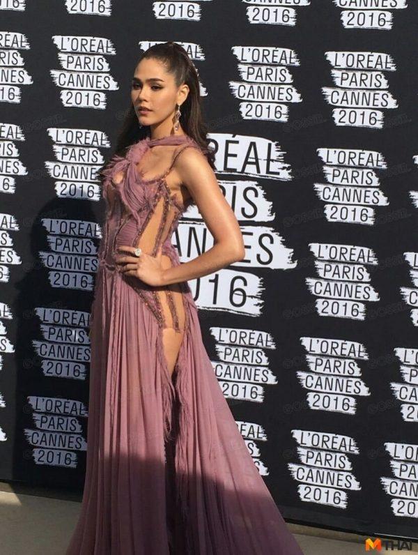 Cannes Film Festival 2016 ชมพู่ อารยา