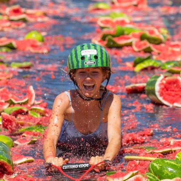 เทศกาลเมล่อน หรือ Chinchilla Melon Festival ประเทศออสเตรเลีย