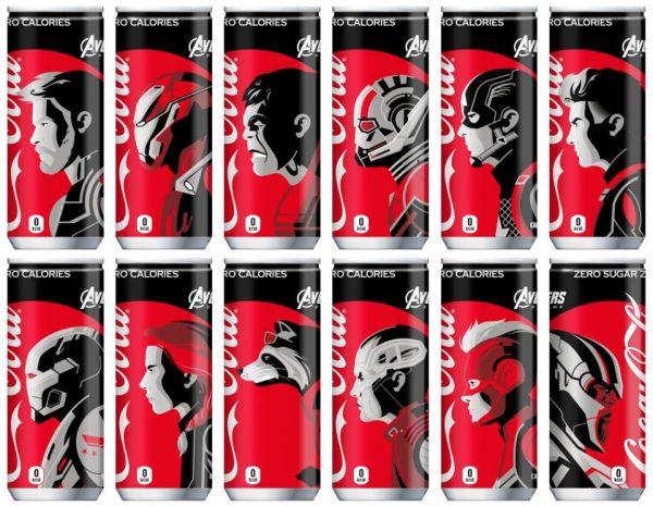 COKE Avengers Endgame