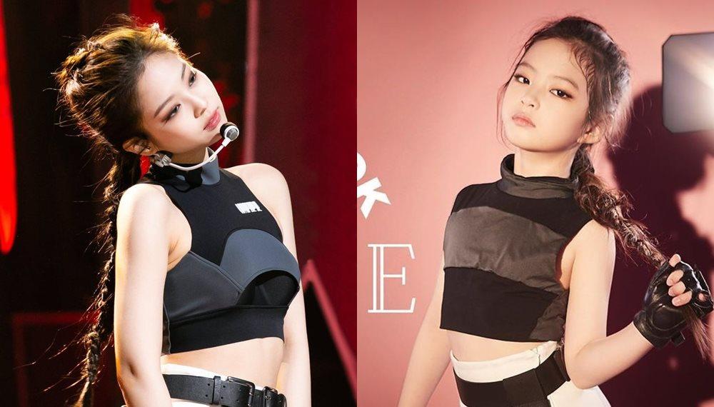BLACKPINK JENNIE BLACKPINK นางแบบเด็กเกาหลี เด็กน่ารัก