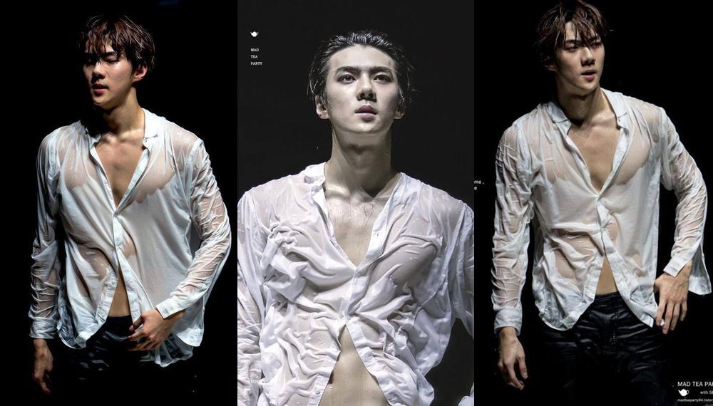 ดาราเกาหลี เกาหลี โอปป้าถอดเสื้อ โอปป้าเสื้อเปียก ไอดอลเกาหลี