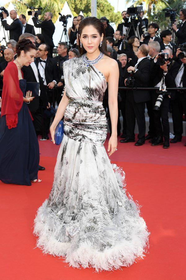 Cannes Film Festival 2018 ชมพู่ อารยา