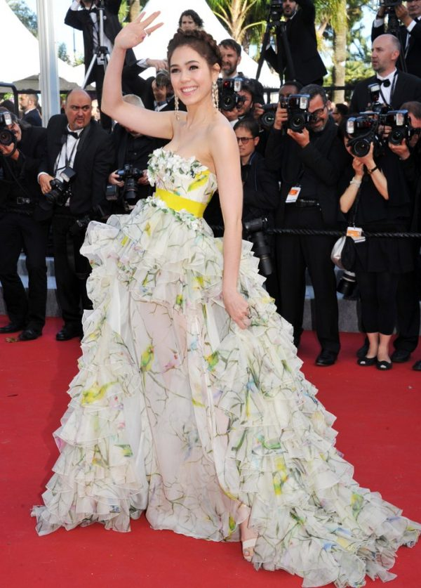 Cannes Film Festival 2015 ชมพู่ อารยา