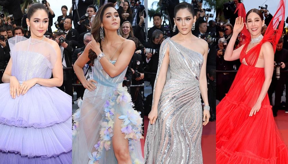 Cannes Film Festival ชมพู่ อารยา เมืองคานส์ แฟชั่น แฟชั่นพรมแดง