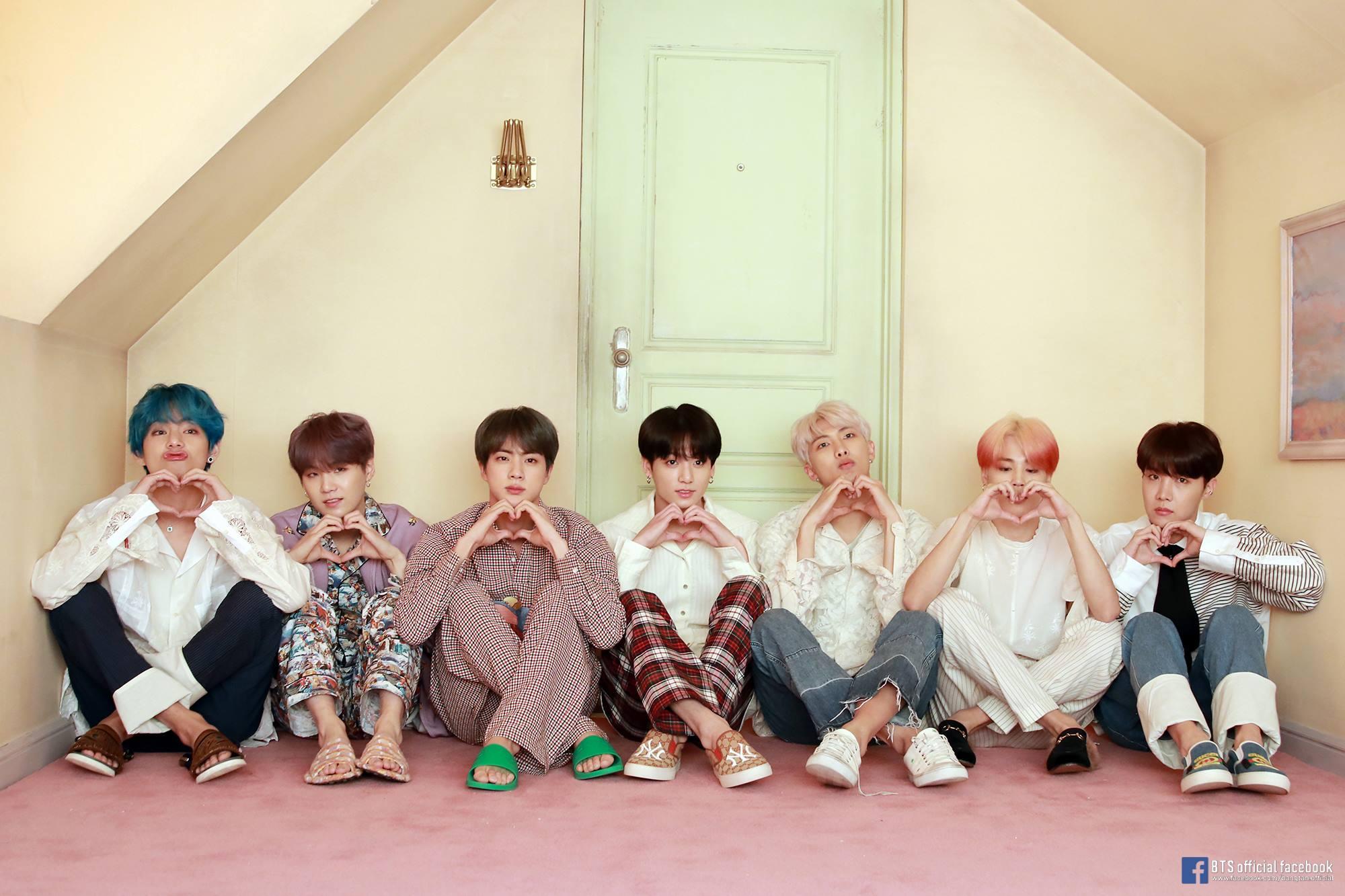 BTS ศิลปิน K-POP โด่งดังไกลระดับโลก
