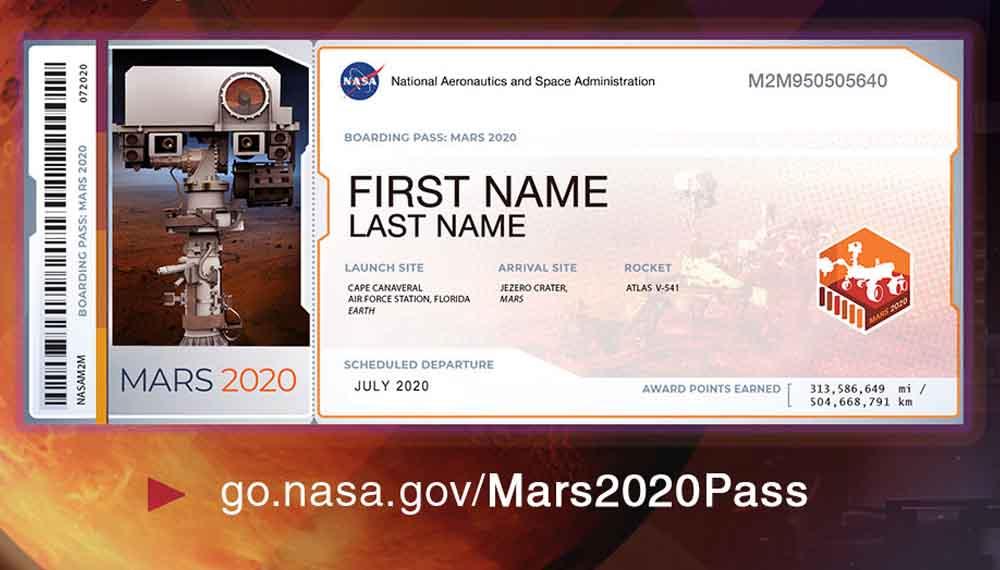 NASA ดาวอังคาร นาซา