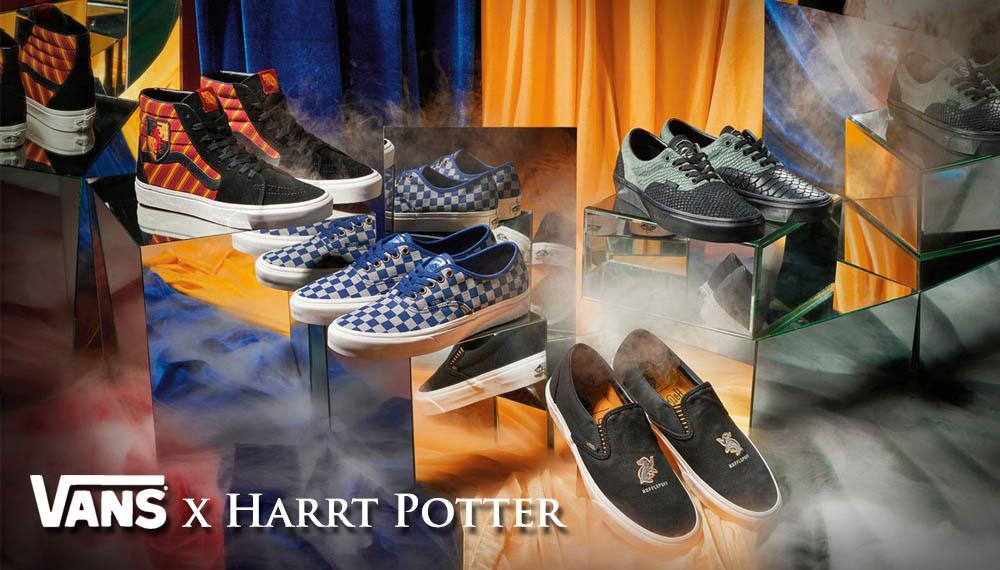 harry potter vans คอลเลคชั่น รองเท้า VANS รองเท้าผ้าใบ