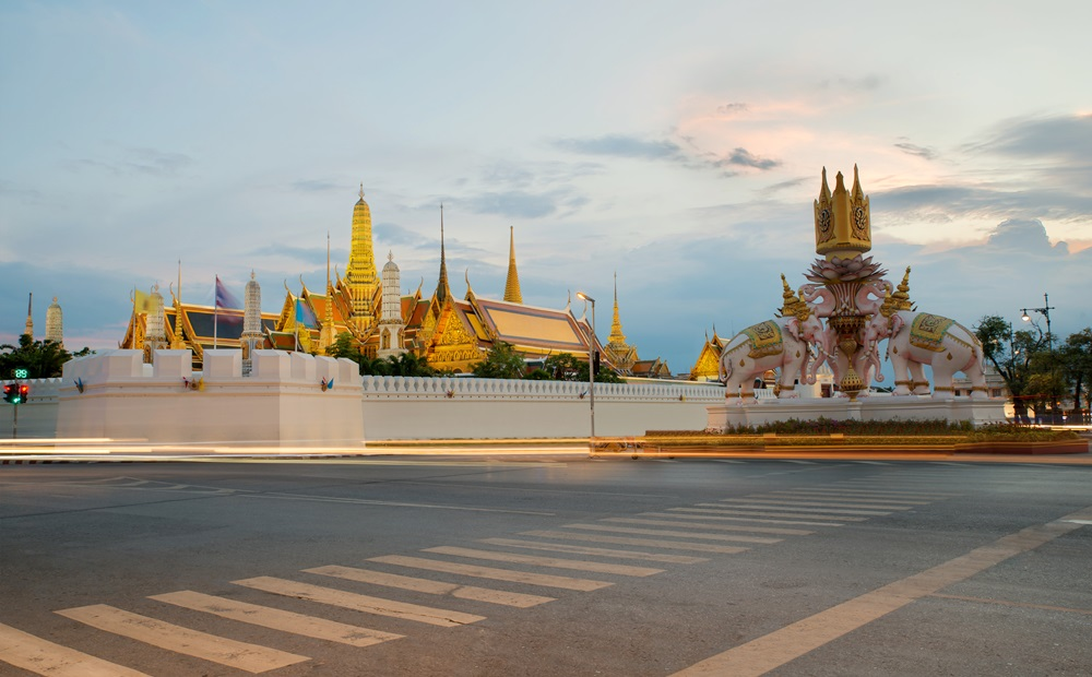 ปิดถนน พระราชพิธี พิธีบรมราชาภิเษก เส้นทางการจราจร