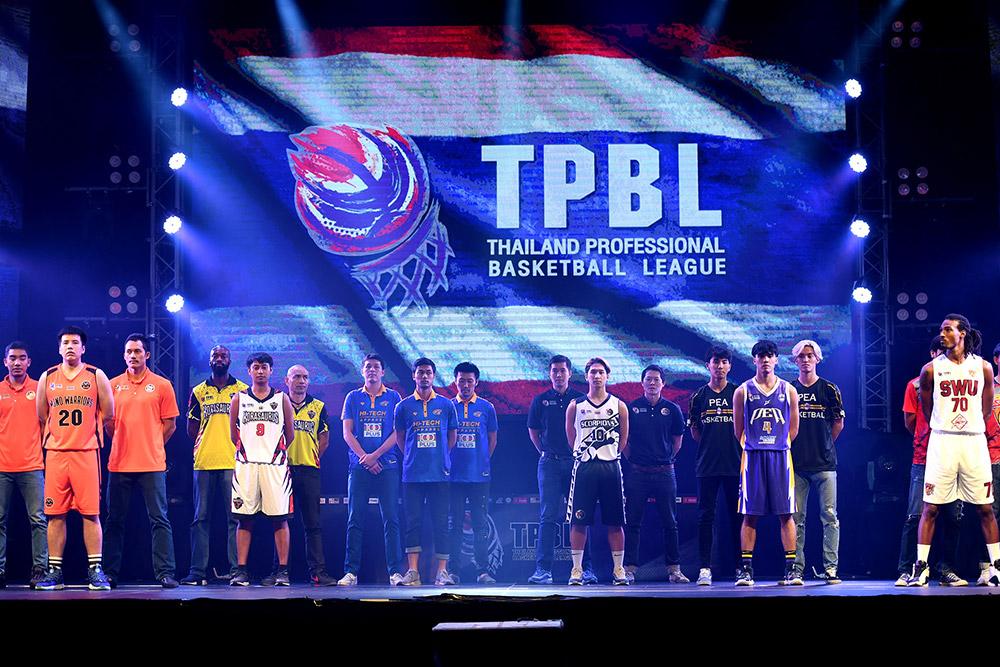6 สโมสรบาสเกตบอลชั้นนำของไทย แถลงข่าวเปิดการแข่งขันศึกบาสเกตบอล