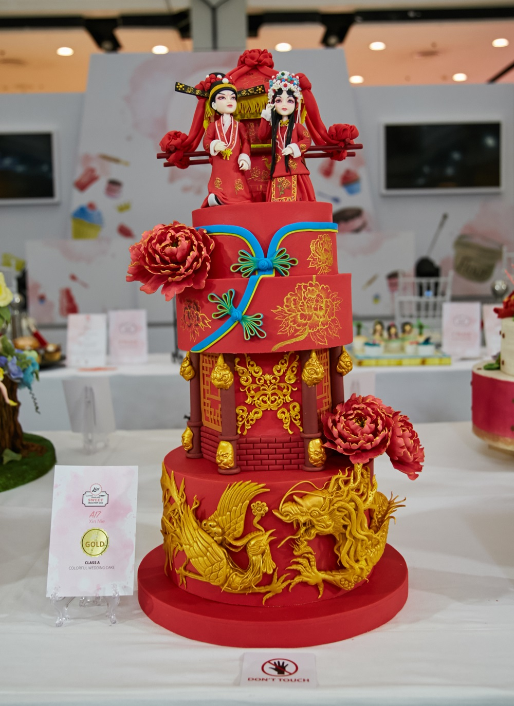 """ผลงานผู้ชนะประกวด เค้กน้ำตาลปั้น """"ลิน"""" สนับสนุนประกวดเค้กโลก ประเทศอังกฤษ"""