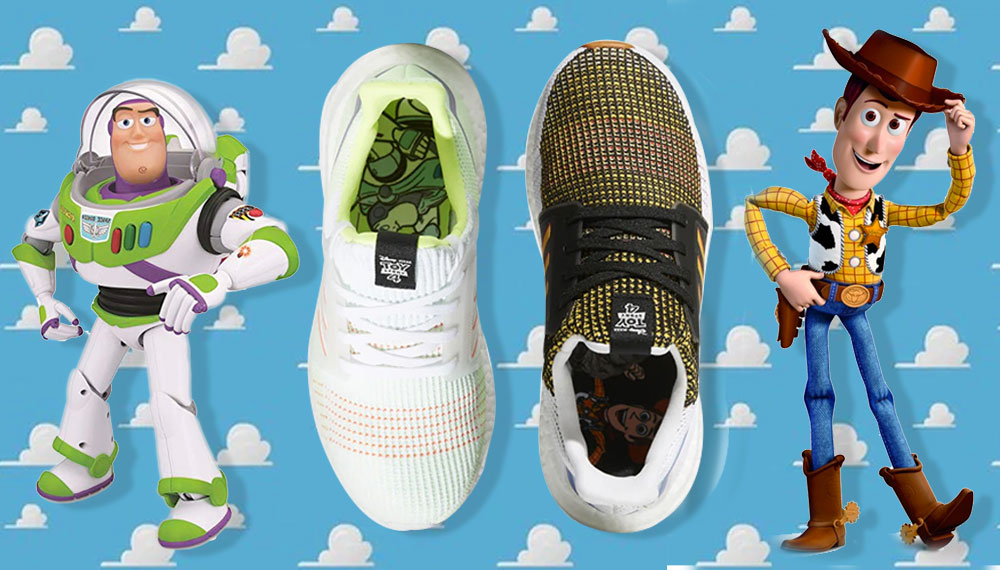 adidas Adidas Ultraboost 19 Buzz Lightyear Toy Story woody รองเท้า adidas รองเท้าผ้าใบ