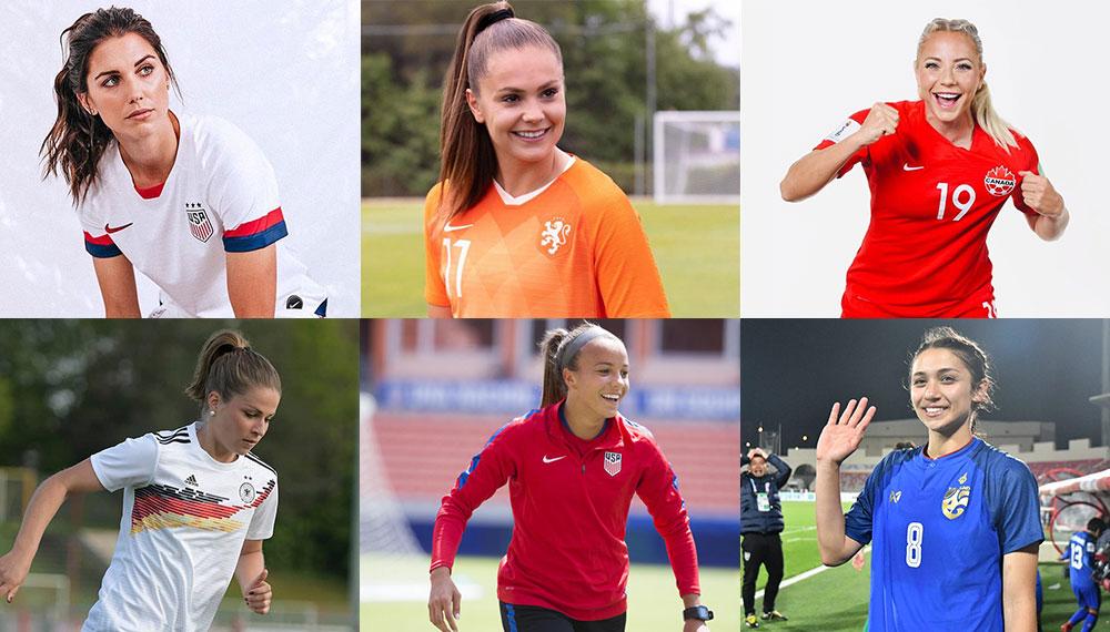 ทีมชาติไทย นักฟุตบอล นักฟุตบอลหญิง นักฟุตบอลหญิงทีมชาติไทย ฟุตบอลโลก สาวสวย