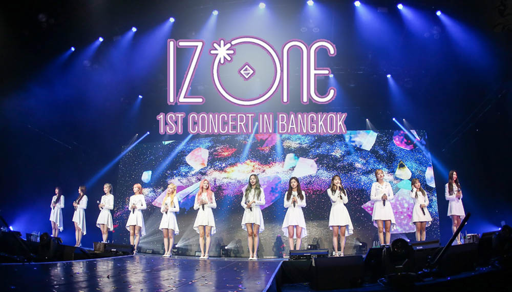 IZ*ONE PRODUCE 48 คอนเสิร์ตเกาหลี ไอดอลเกาหลี ไอดอลเหญิงกาหลี