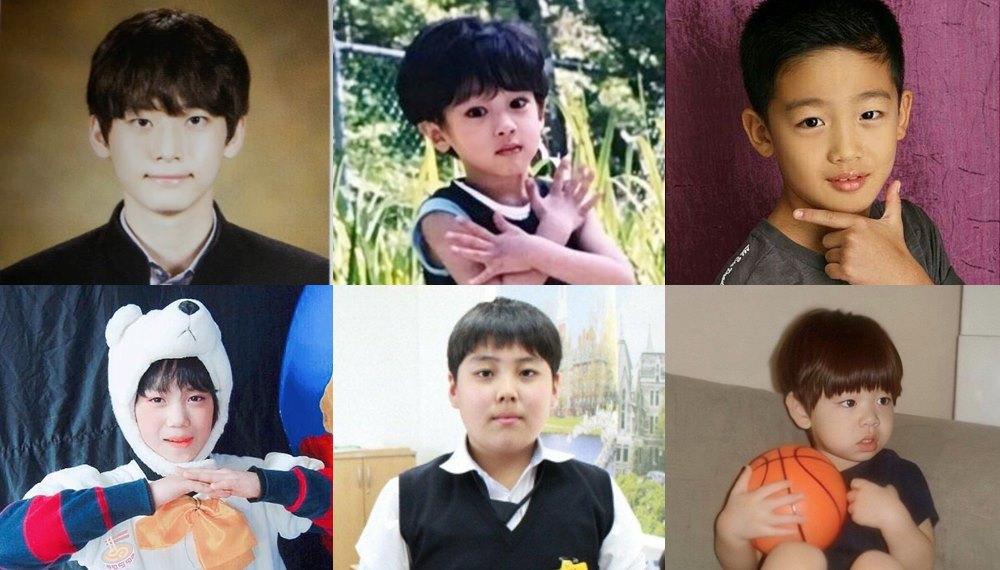 PRODUCE X 101 ภาพวัยเด็ก วัยเด็ก ไอดอลเกาหลี