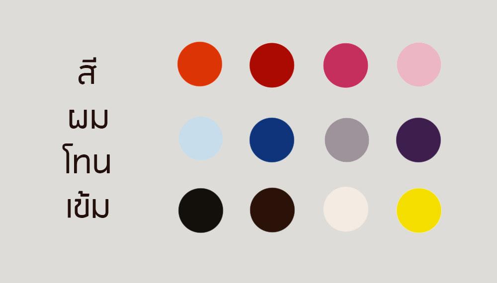 เลือกสีเสื้อผ้าอย่างไร ให้เหมาะกับสีผม