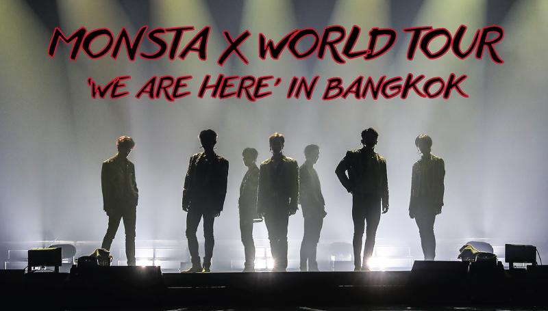 MONSTA X คอนเสิร์ต 2019 คอนเสิร์ตเกาหลี