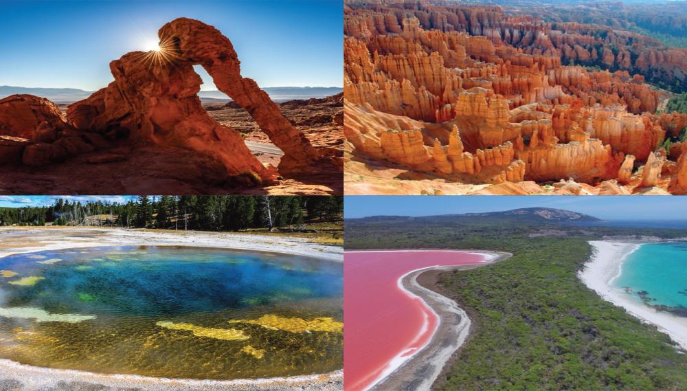 สถานที่ท่องเที่ยวธรรมชาติ สถานที่มหัศจรรย์ทางธรรมชาติ