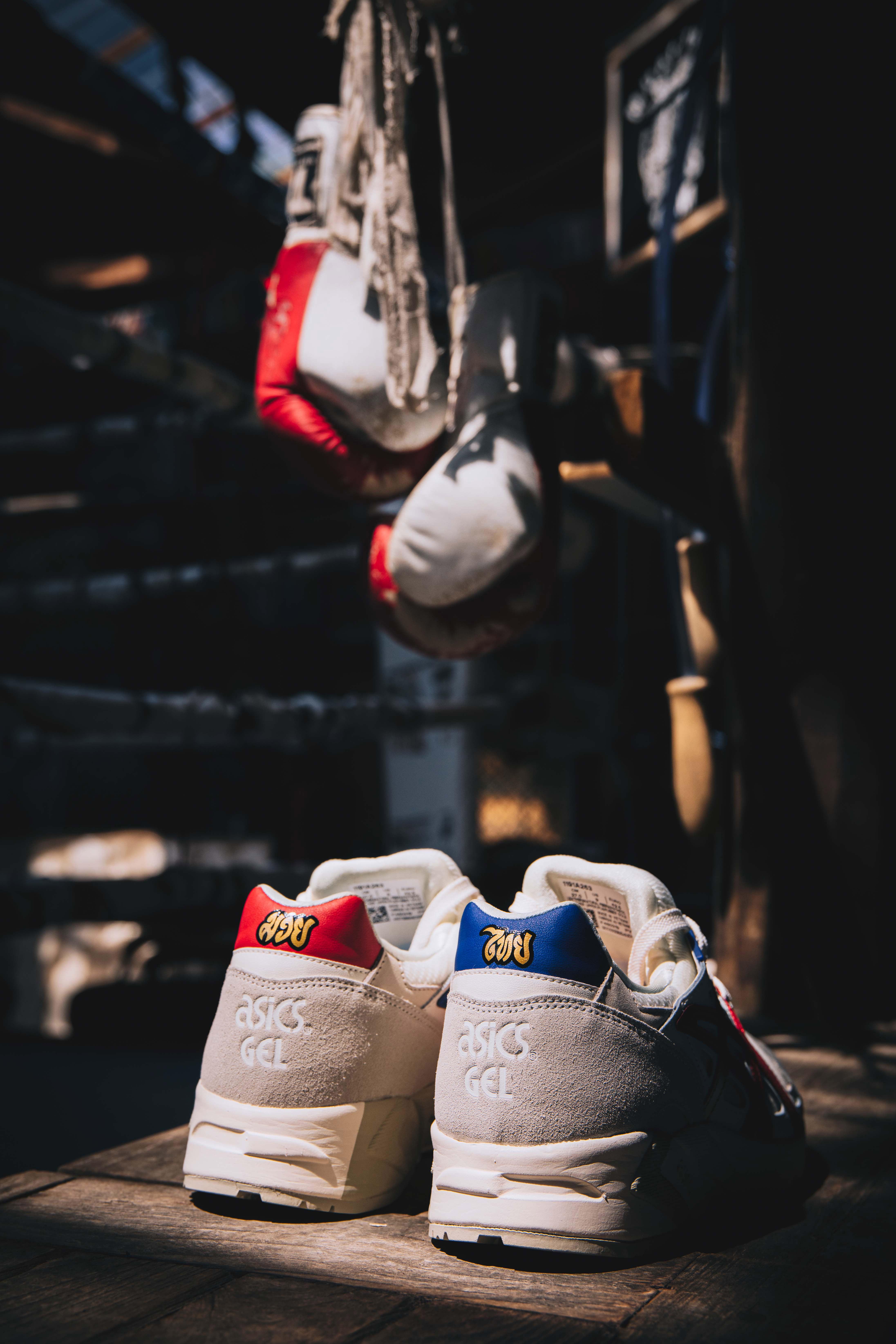รองเท้าที่ได้รับแรงบันดาลใจ จากมวยไทย ราคา 5,500 บ. - ASICSTIGER