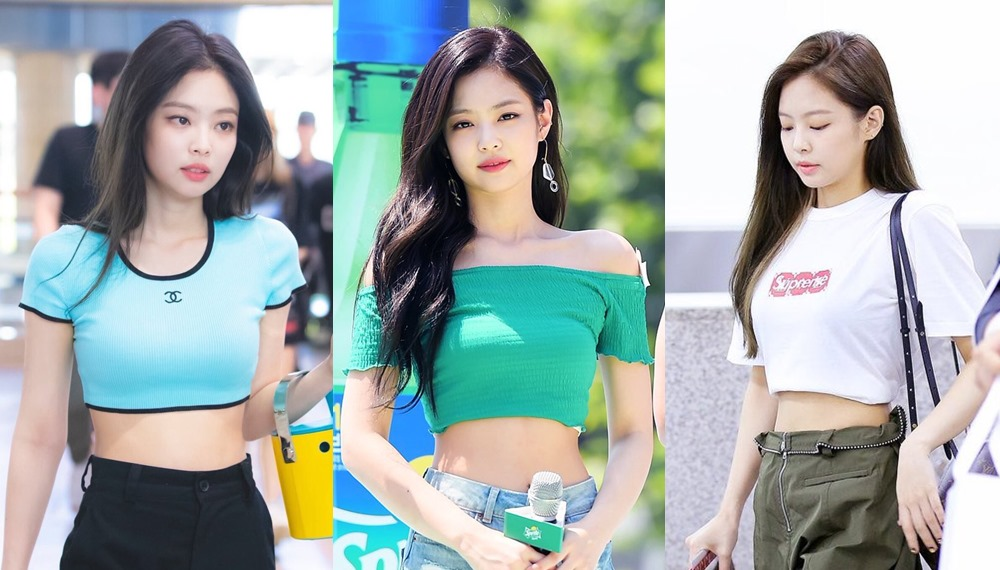 BLACKPINK JENNIE BLACKPINK JENNIE KIM เจนนี่ เสื้อ