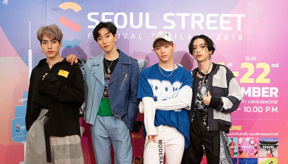 C-Cray MONO MONO MUSIC Seoul Street Festival Thailand 2019