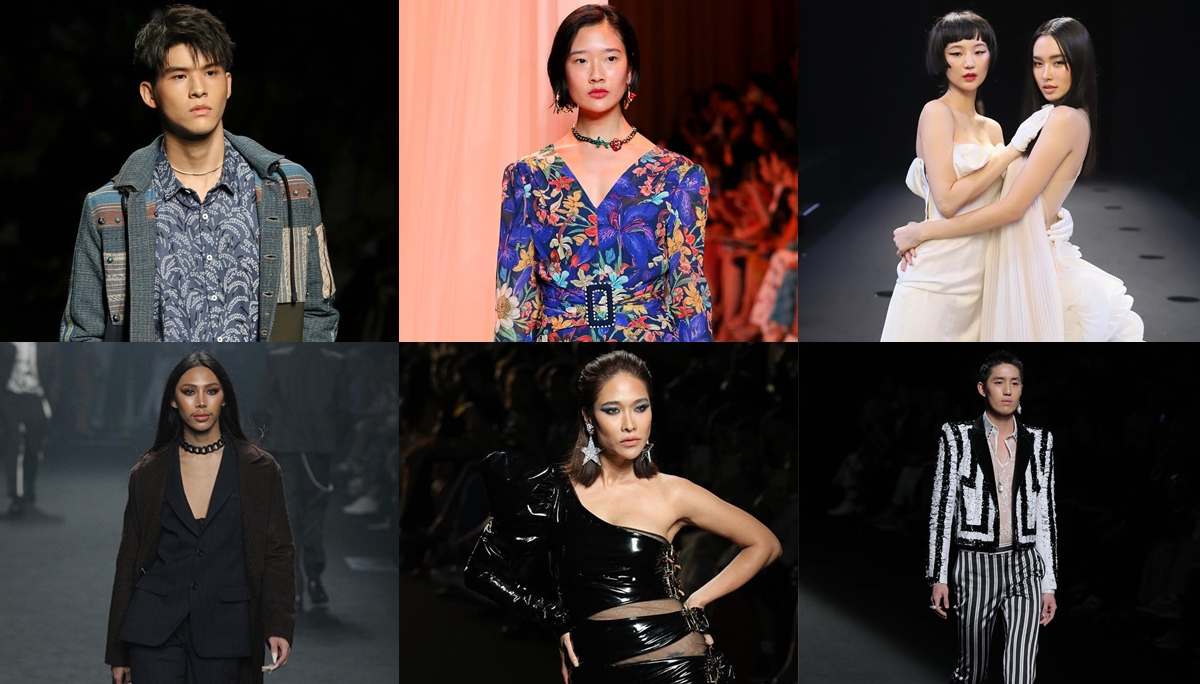 ELLE Fashion Week 2019 กัปตัน ชลธร ต่อ-ธนภพ ต้าเหนิง กัญญาวีร์ นางแบบ นายแบบ พลอย-เฌอมาลย์ สกาย มาเรีย สกาย วงศ์รวี ออกแบบ ชุติมณฑน์ แต้ว ณฐพร
