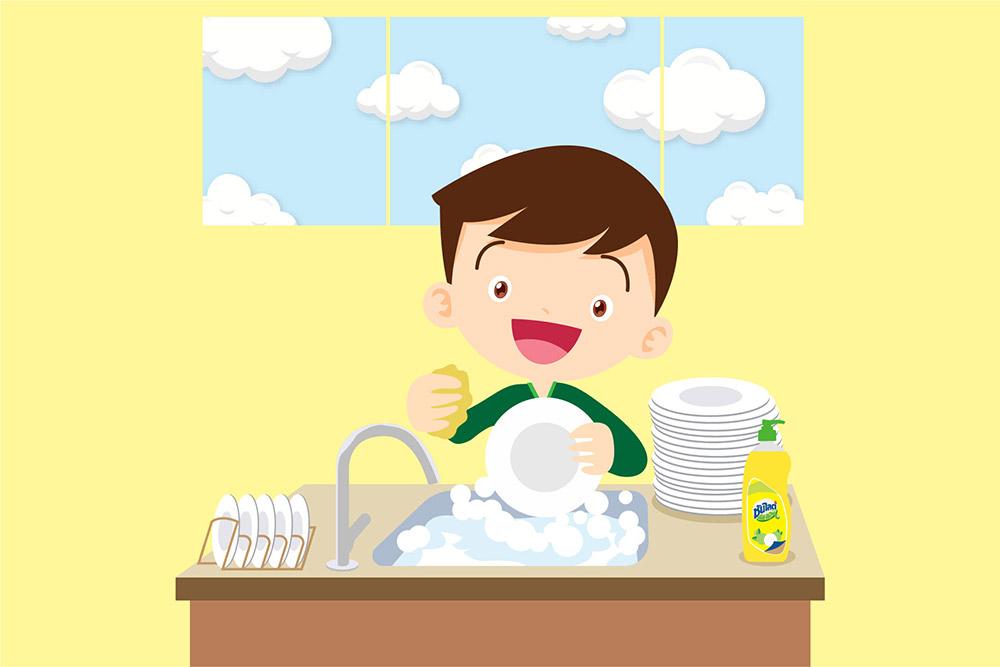 """3 ไอเดีย """"ล้างจานรักษ์โลก"""""""