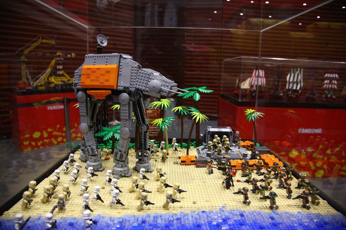 มหกรรมตัวต่อเลโก้ กลับมาอีกครั้ง ในธีม สตาร์ วอร์ส 14-17 พ.ย. นี้ ที่ไอคอนสยาม