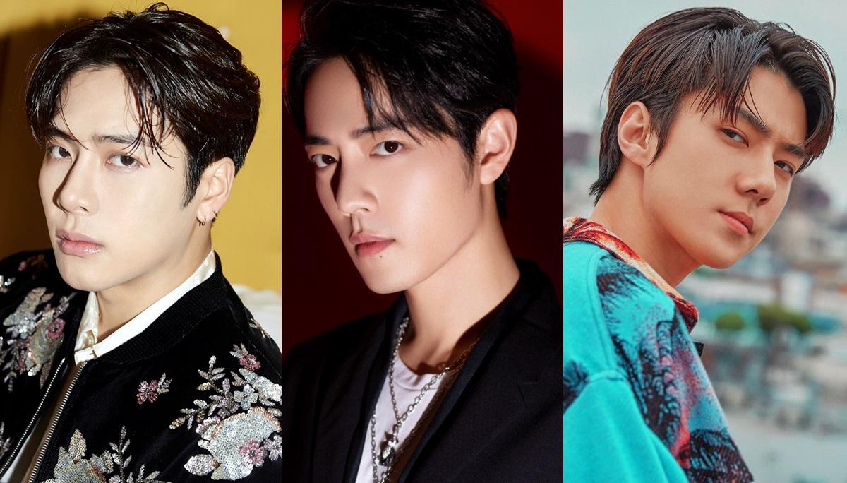 bts EXO GOT7 NCT127 Xiao Zhan การจัดอันดับ จองกุก bts ดาราจีน วี bts หนุ่มหล่อที่สุดในเอเชีย แจ็คสัน GOT7 ไอดอลเกาหลี