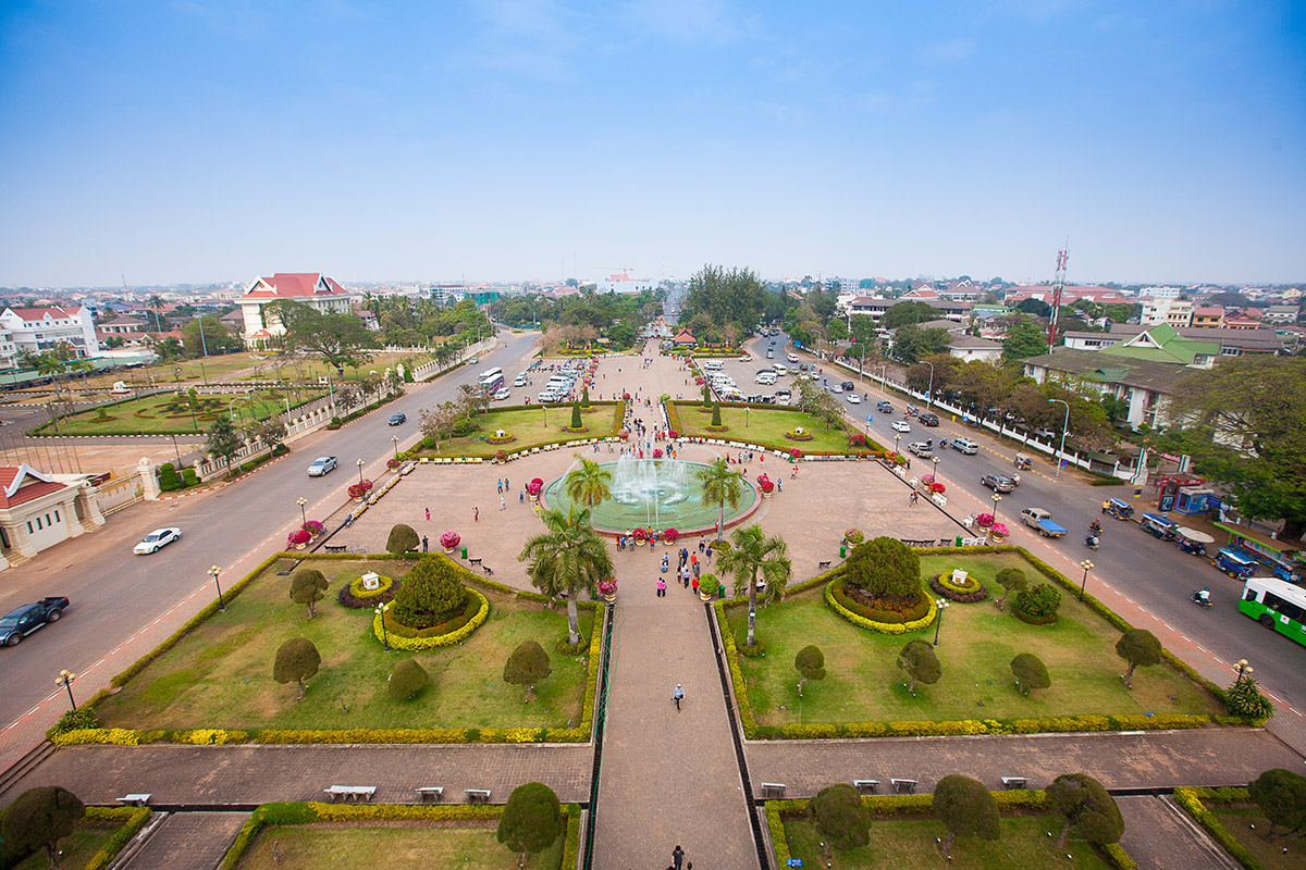 เมืองเวียงจันทน์ ประเทศลาว
