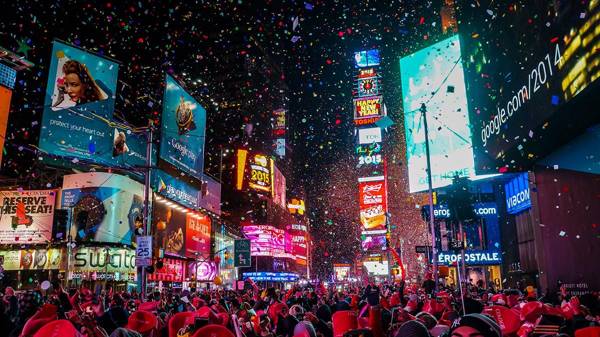 ฉลองปีใหม่ ปีใหม่ เคาท์ดาวน์ ไอคอนสยาม