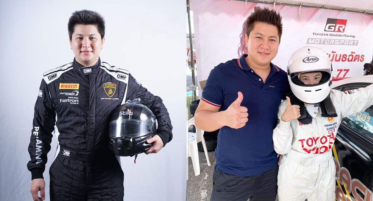 กี้-สราวุธ เสรีธรณกุล นักธุรกิจ นักแข่งรถ ฝน ศนันธฉัตร