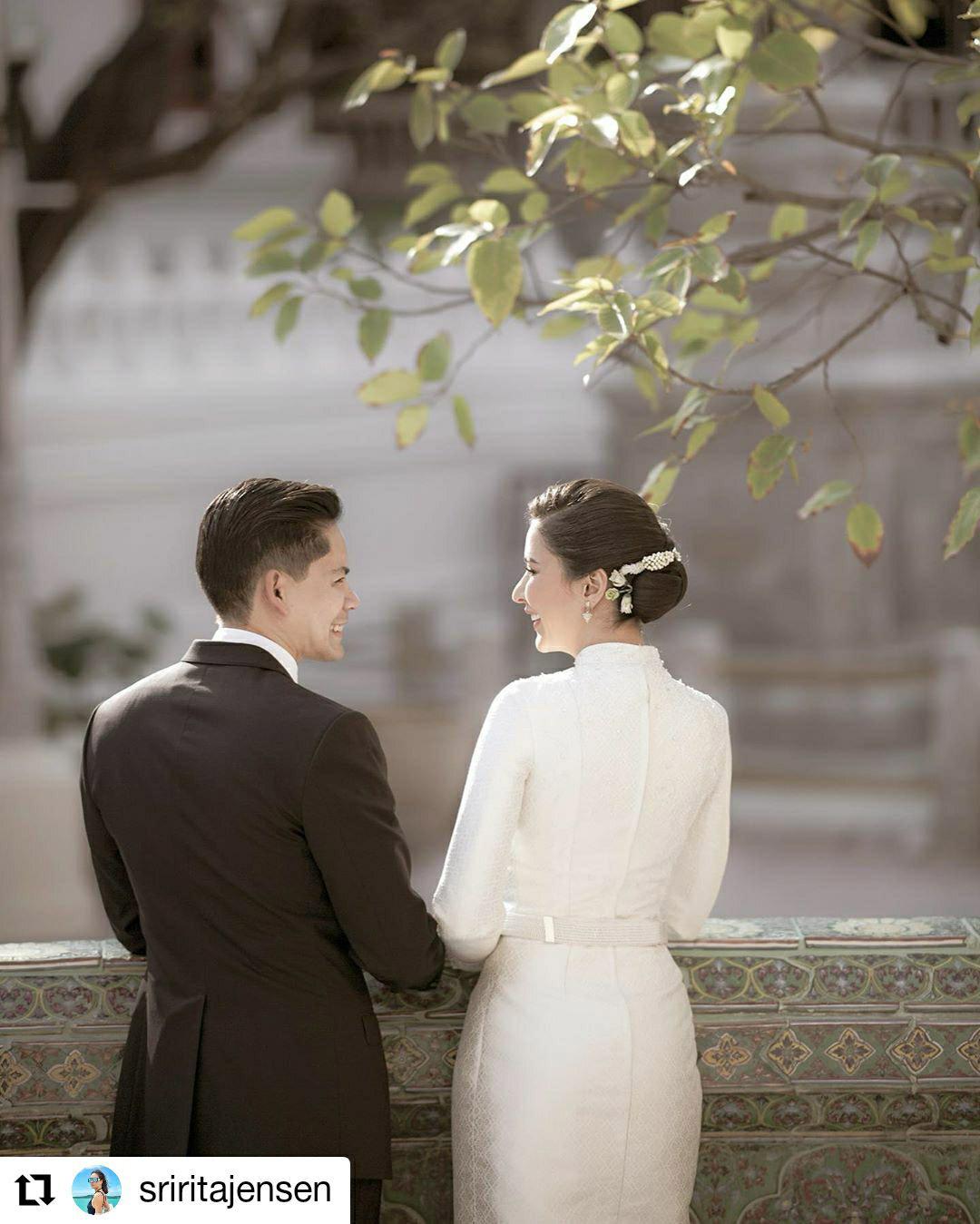 ชุดแต่งงาน ศรีริต้า เจนเซ่น