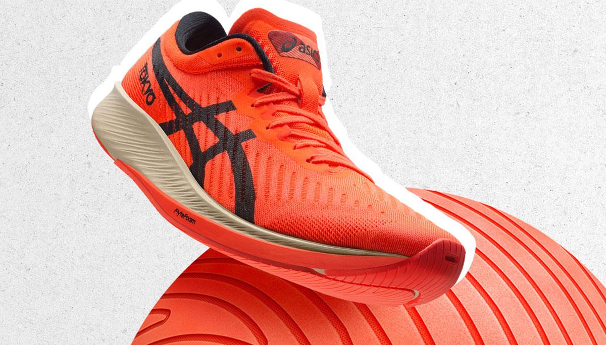 รองเท้า รองเท้าวิ่ง รองเท้าสีแดง