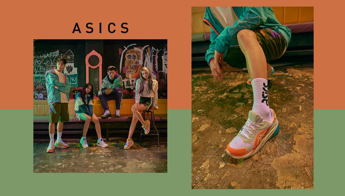 ASICS รองเท้า สนีคเกอร์